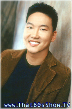 Eddie Shin from THAT 80'S SHOW